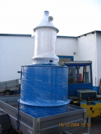 Aeration tower