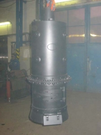 Steam boiler for the steam-car